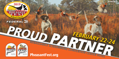 Join us for the 2019 PheasantFest